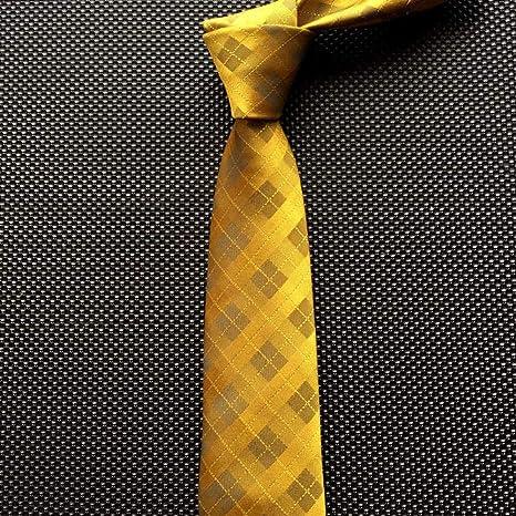 KYDCB 7 Cm Corbatas para Hombre Rayas Corbata de Paisley Corbatas ...