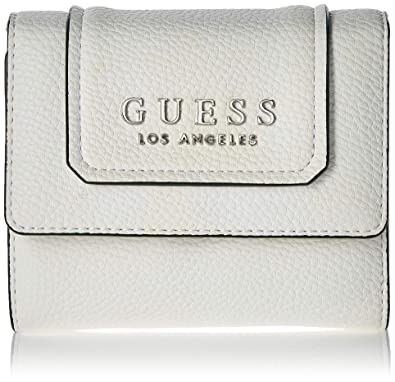 Guess - Sally, Carteras Mujer, Blanco (White/Whi), 12.5x11x3 cm (W x H L): Amazon.es: Zapatos y complementos