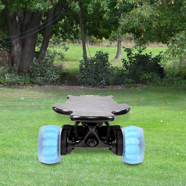 MOTION Electric Skateboard Wheels 78A Translucent Urethane Urban All Terrain Off Road 120mm Patented Foam Core Wheels