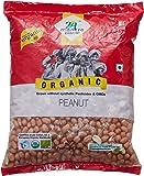 24 Mantra Organic Raw Peanut, 1kg