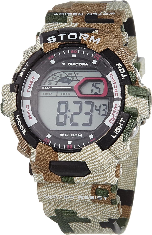 Diadora Reloj de Cuarzo Storm 50 mm