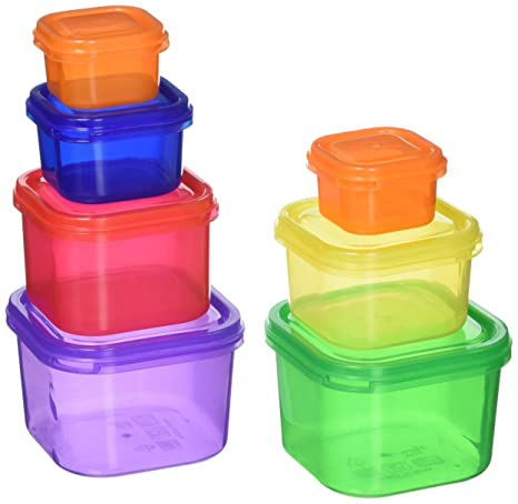Portion Control Containers By Beachbody Stop Counting Calories Bpa Free 7 Piece Kit