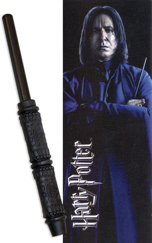The Noble Collection Z885920 Harry Potter Severus Snape - Bolígrafo con marcapáginas, multicolor