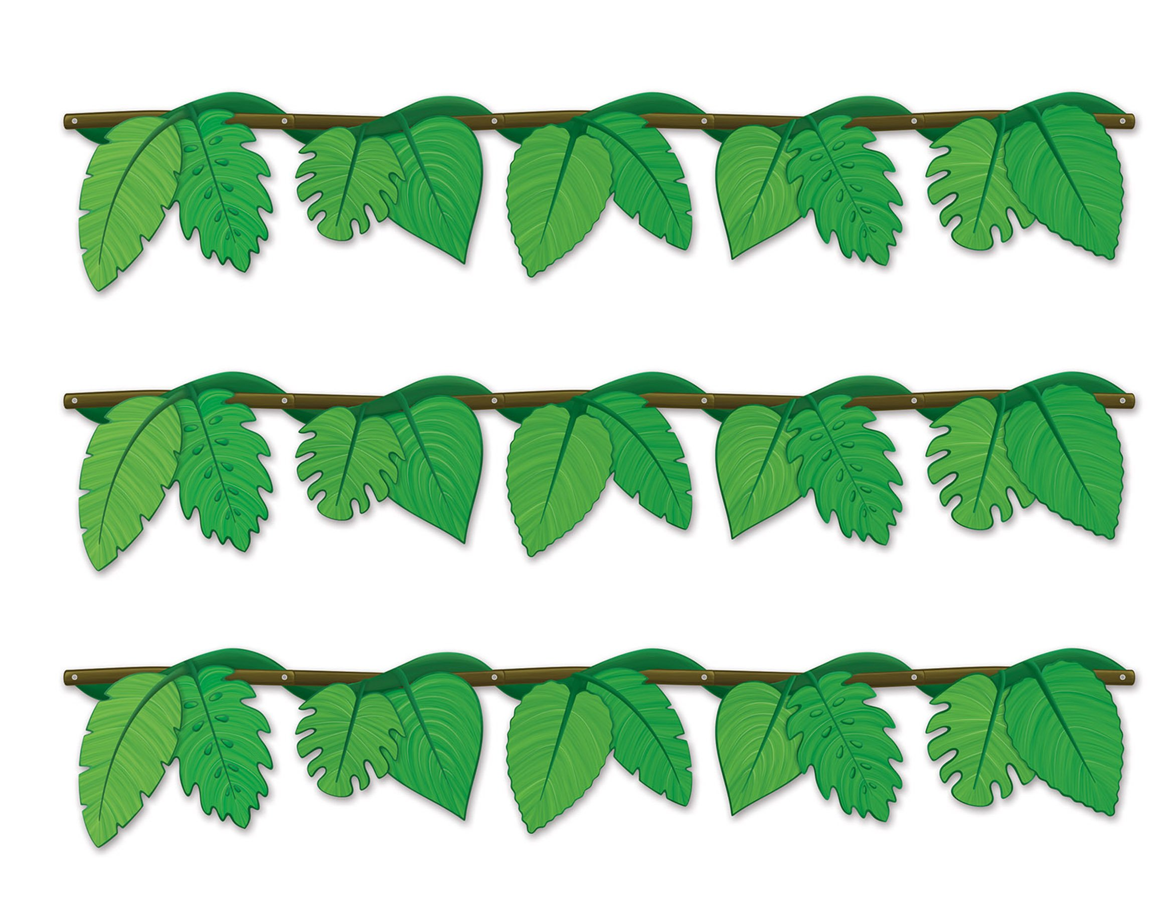 Beistle S54921AZ3, 3 Piece Jungle Vine Streamers, 48.5''