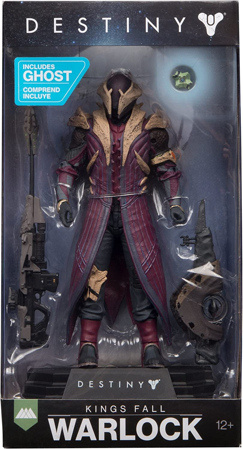 McFarlane Toys Destiny Kings Fall Warlock Collectible Action Figure 13002-7