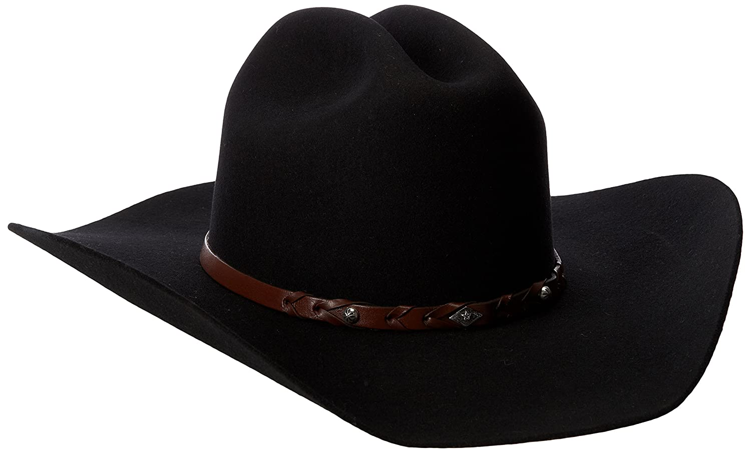 aa645a001c0af3 Justin Men's 2X Lone Star Hat, Black, 7: Amazon.in: Clothing & Accessories
