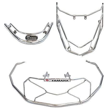 Ride Smart Yamaha Ray Z Safety Guards Stainless Steel Frame With Nut