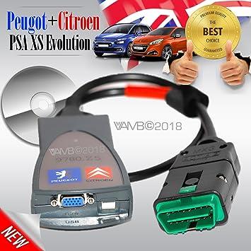 UK SELLER: Lexia 3 Diagbox 7 83 Peugeot Citroen Diagnostic Tool