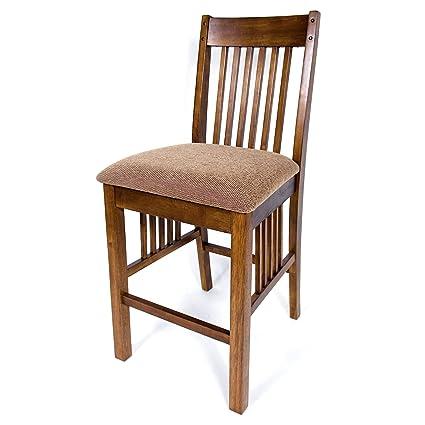 Amazon Com Aw Furniture Set Of 2 Solid Hardwood Mission Style