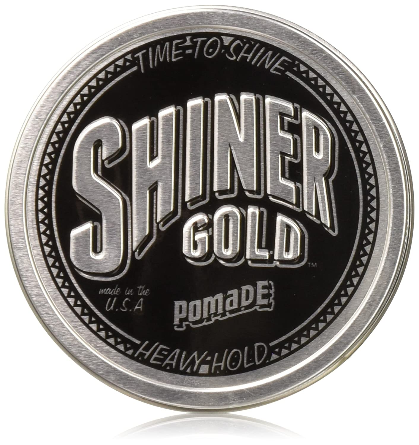 Shiner Gold Pomade 4 oz 3 Pack & Free Comb