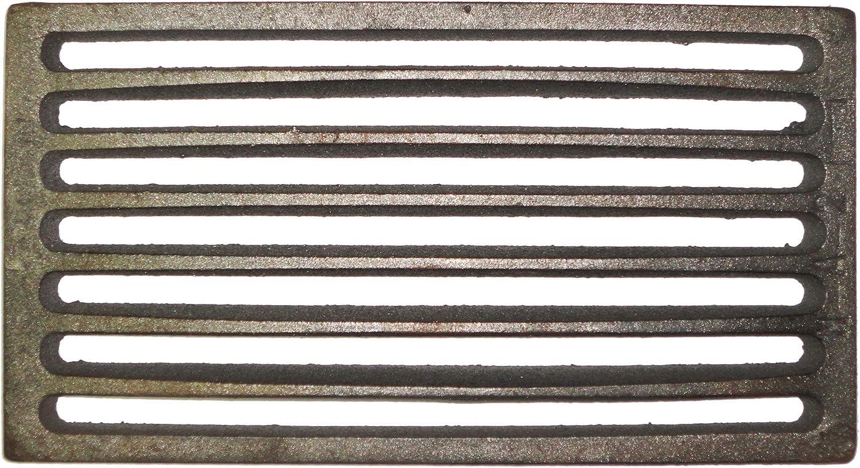 Griglia di scarico in acciaio simile alla ghisa 14 x 14 cm ultra resistente di forma quadrata