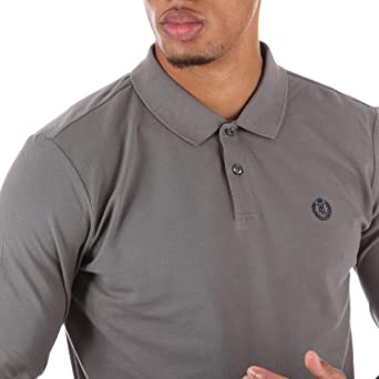 e22696dca Henri Lloyd Mens Mens Musburry Regular LS Polo in Grey - XL  Henri Lloyd   Amazon.co.uk  Clothing