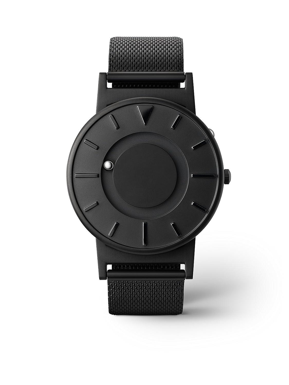 eone BRADLEY BLACK Unisex Uhr - Edelstahl MESH Armband