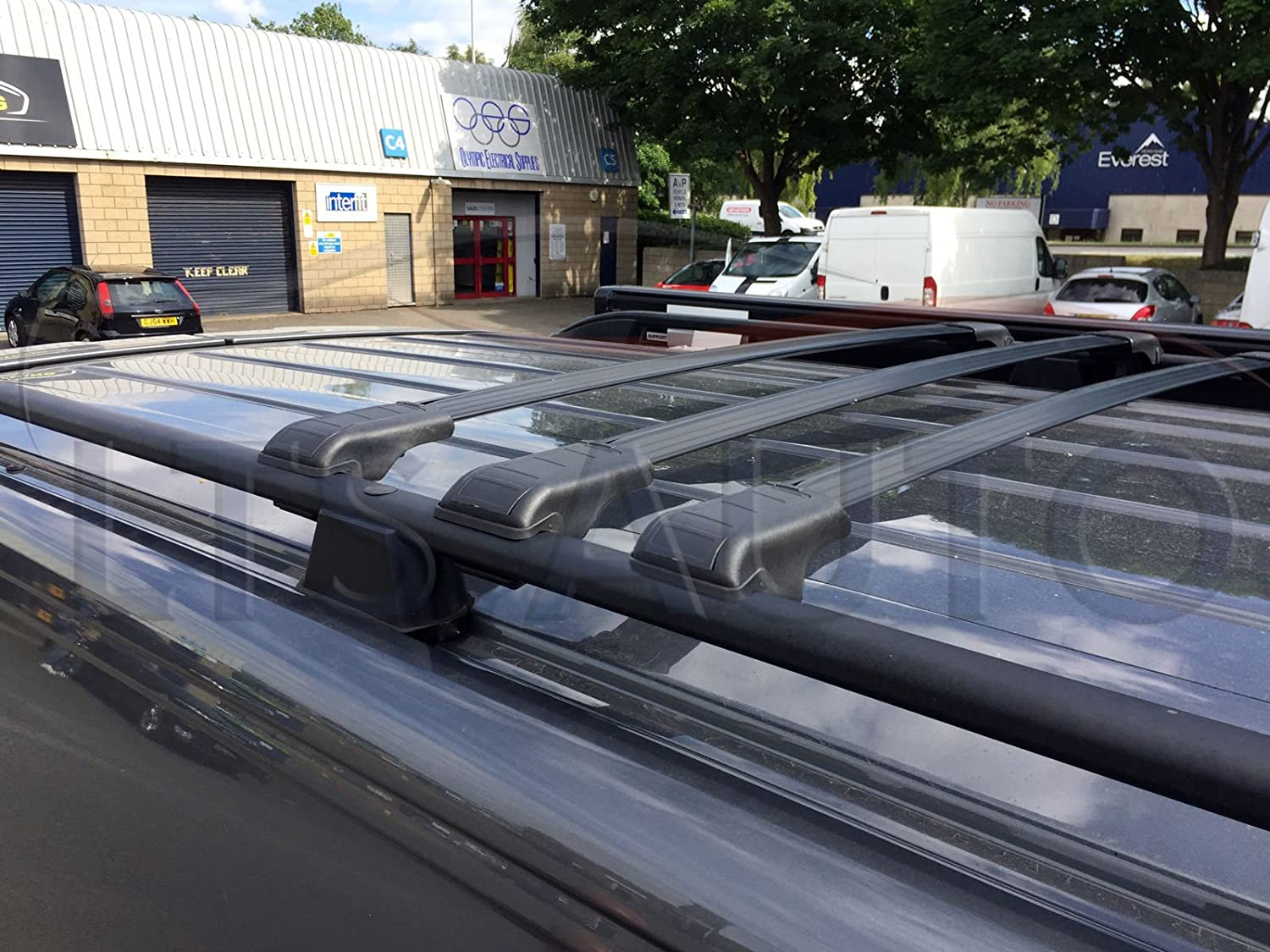 RENAULT KADJAR LOCKABLE ROOF RACK BAR CROSS BARS 2015 ONWARDS 75 KG
