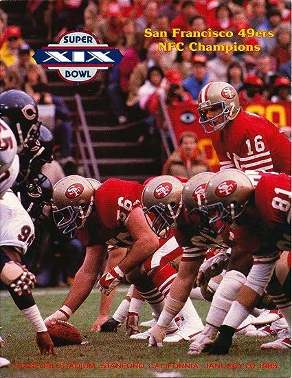 amazon com jan 20 1985 super bowl xix san francisco 49ers roster