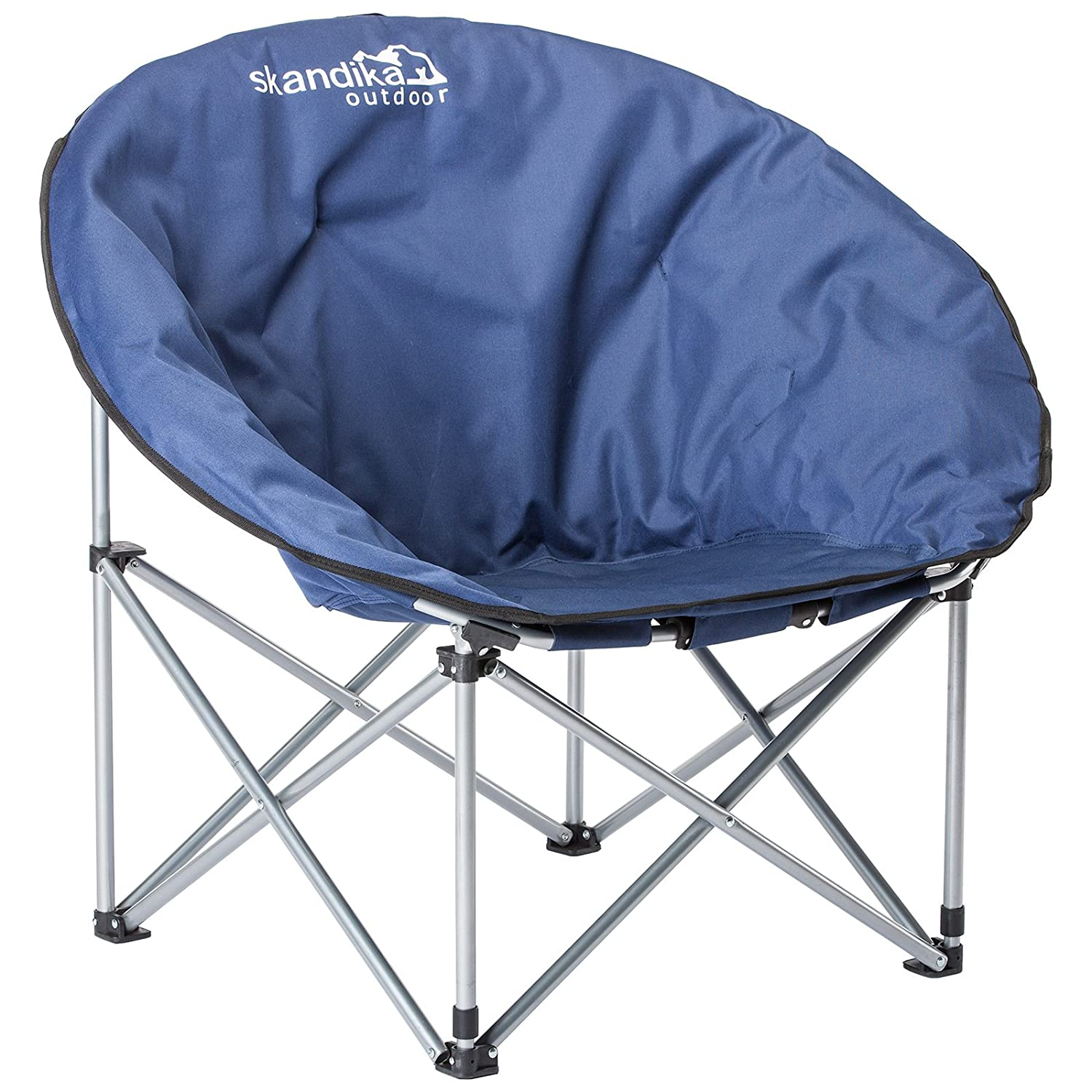 Skandika Mercury Moon Camping Chair Navy Amazon Sports