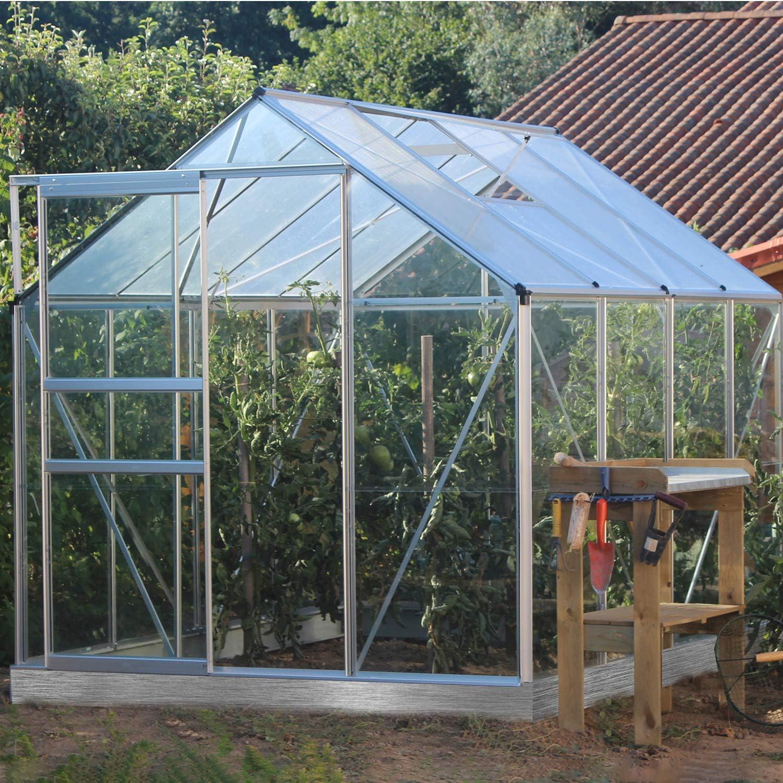 lams – Invernadero albahaca 5 m² en Aluminio. Paredes de Cristal ...