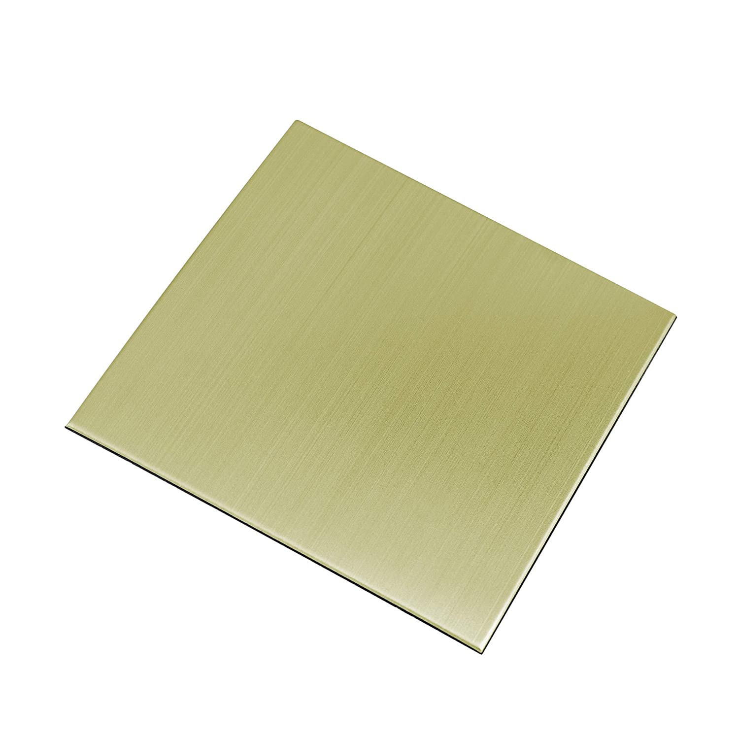 Ver Block Peel and Stick Design Stainless Steel DIY Interior Tile 20PCS