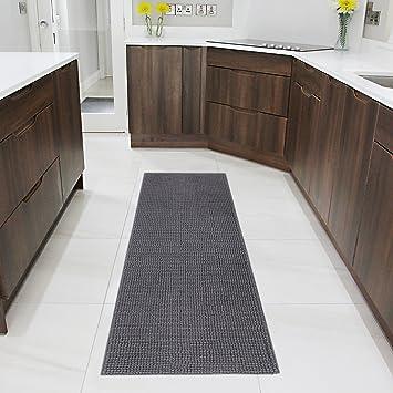 Lifewit Tapis X CM Absorbant Antidérapant En Microfibre Grand - Faience cuisine et tapis 150 x 200