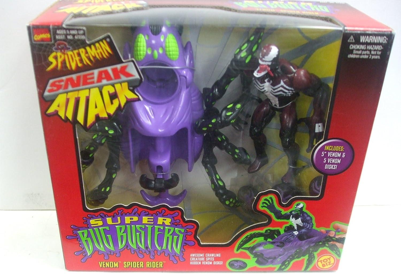 Spider-Man Super Bug Busters Spider Rider Toy Biz