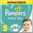 Pampers Baby Dry Gr.5 Junior 11-23kg MonatsBox