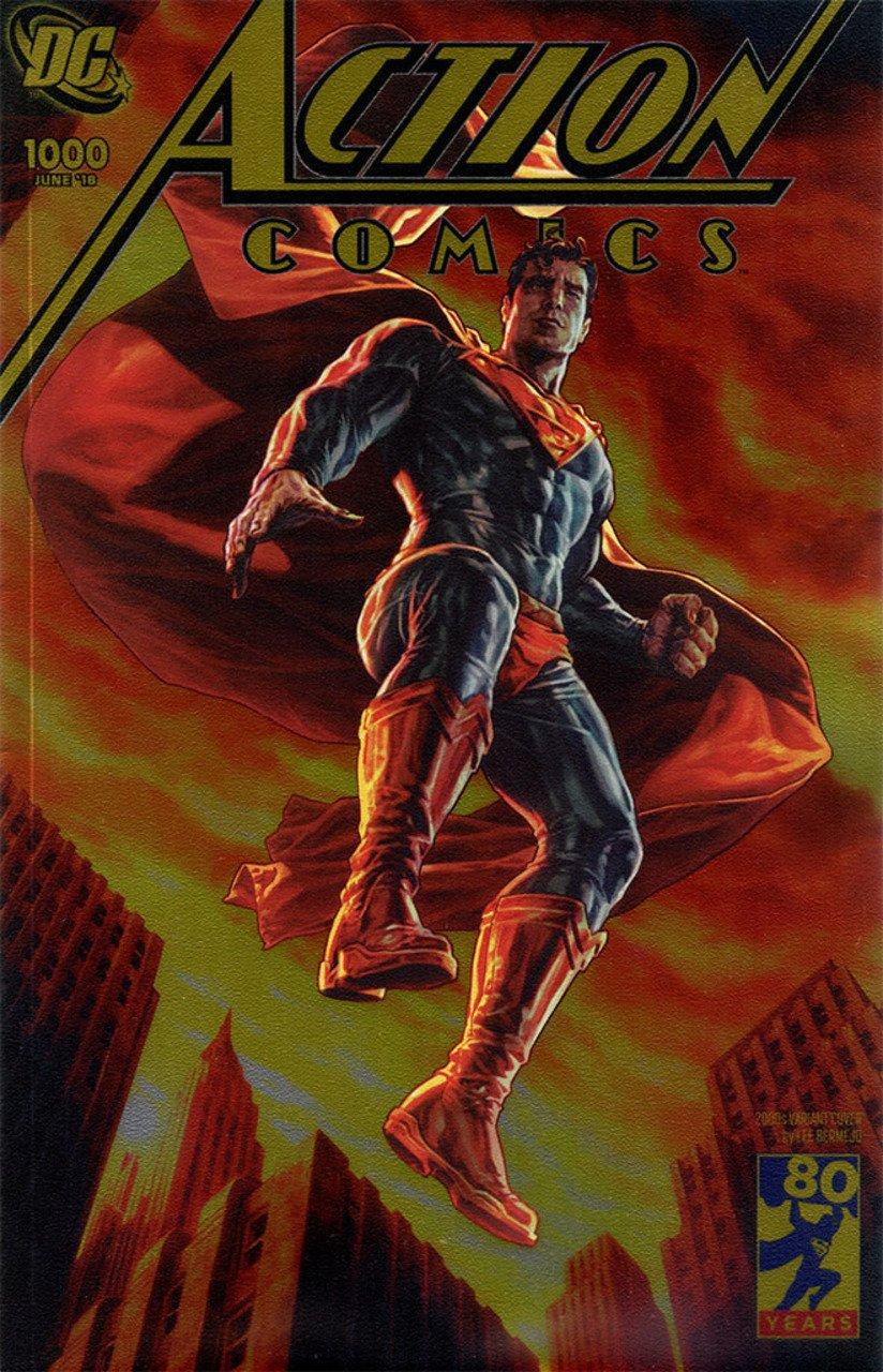 Download ACTION COMICS #1000 DC BOUTIQUE GOLD FOIL VARIANT COVER DC COMICS pdf