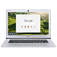 "Acer Chromebook 14 CB3-431-C1AN Notebook con Processore Intel Celeron N3060, Display da 14"" HD LED, eMMC 32 GB, RAM da 4 GB, Google Chrome, Silver"