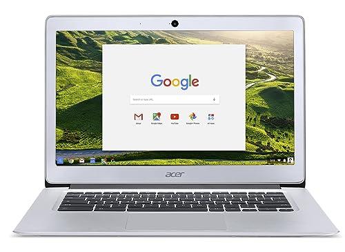 Acer NX.GC2EK.003 Chromebook 14 CB3-431 14-Inch Notebook - (Silver) (Intel N3060 Celeron Processor, 2 GB RAM, 32 GB eMMC, Chrome OS)