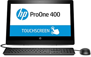 HP ProOne PC multifunción táctil 400 G3 de 20 Pulgadas - Ordenador de sobremesa All in