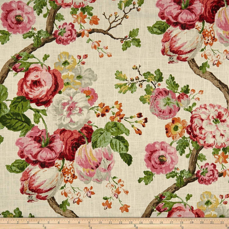 P Kaufmann Manor House Linen Fabric, Blossom, Fabric By The Yard