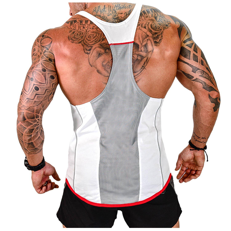 Athletic Canotta sportiva da uomo per gli amanti del fitness