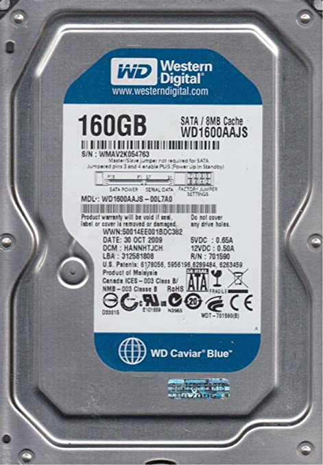 WD1600AAJS DRIVER DOWNLOAD