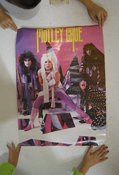 Amazon com: Motley Crue Poster Vintage Band Shot: Prints
