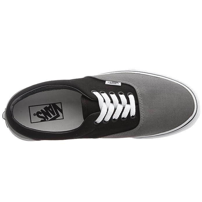 Amazon.com | Vans Unisexs VANS ERA SKATE SHOES 3.5 (PEWTER/BLACK) | Skateboarding