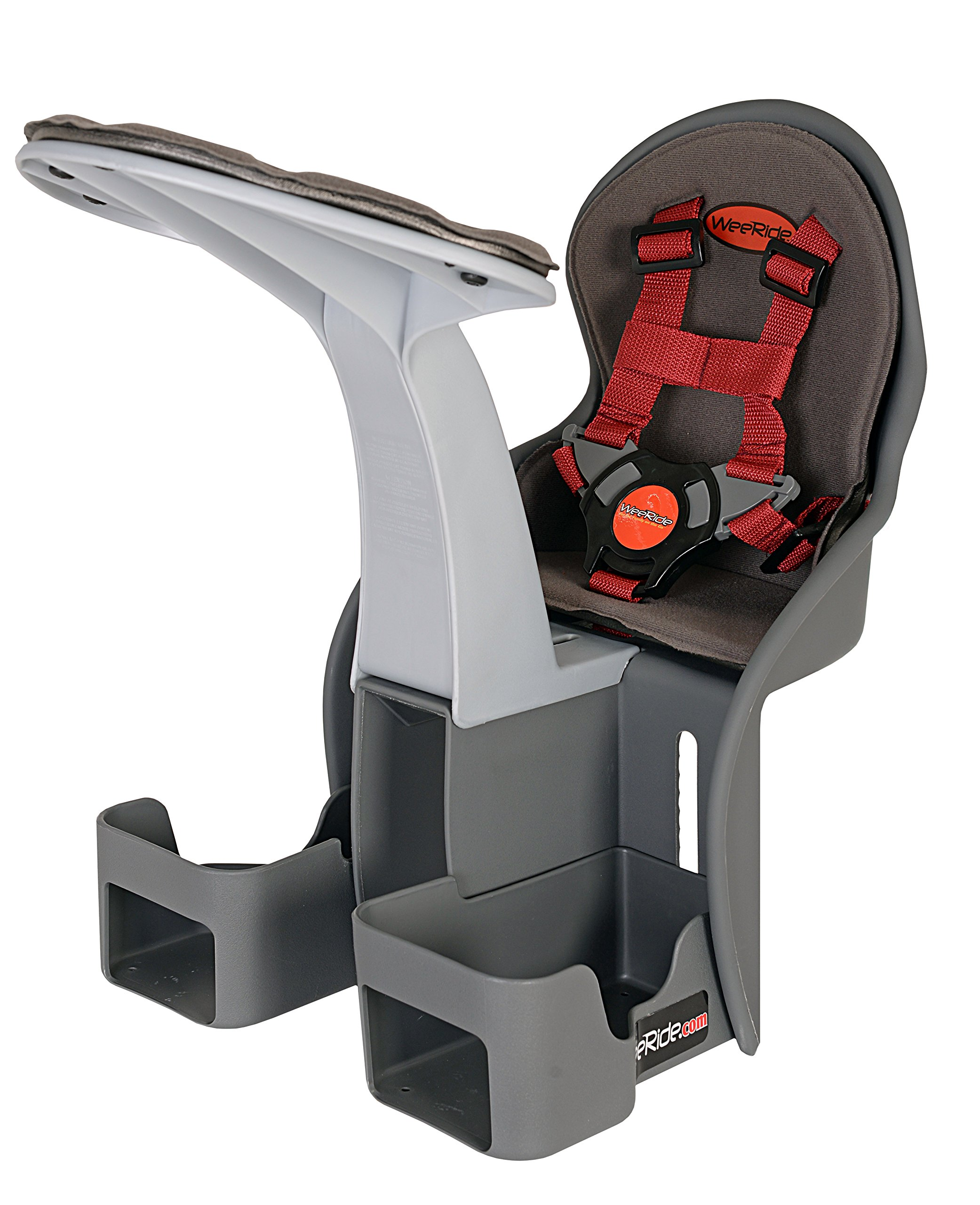 WeeRide Kangaroo Child Bike Seat, Grey