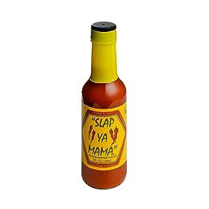 Slap Ya Mama All Natural Louisiana Style Hot Sauce, Cajun Pepper Flavor, 5 Ounce Bottle, Pack of 1