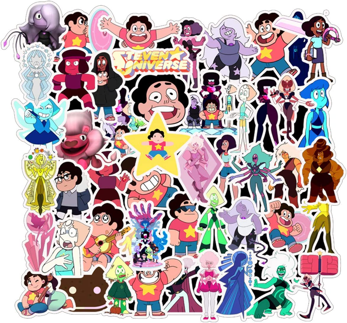 Steven Universe Stickers Laptop Stickers Waterproof Skateboard Car Snowboard Bicycle Luggage Decor