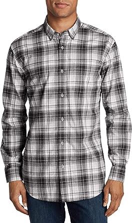 Eddie Bauer Hombre Tiempo Libre Camisa, cuadriculado 14111077 ...