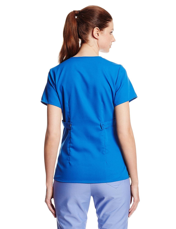 Greys Anatomy Junior Fit Three Pocket Mock Wrap Image 2