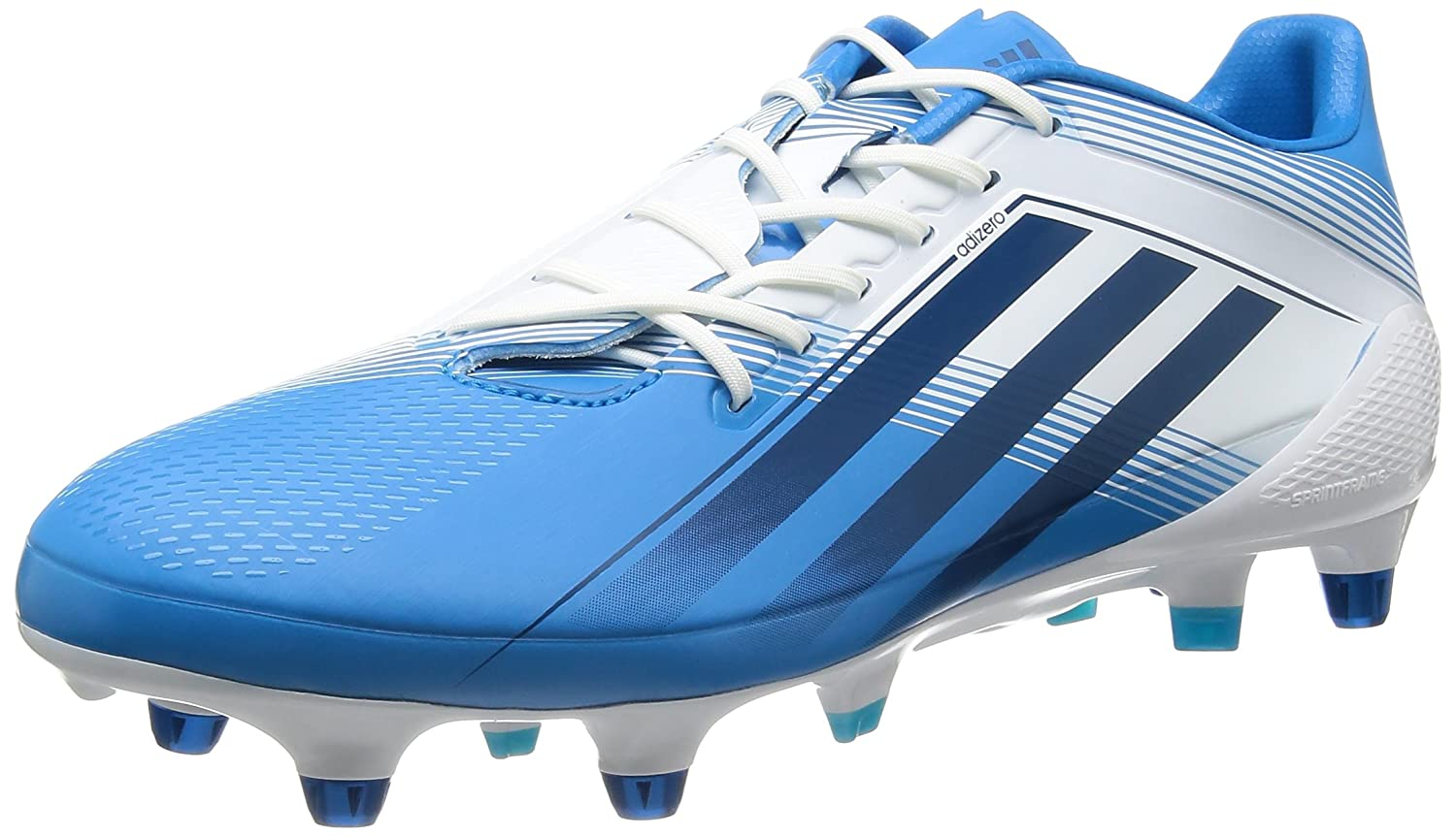 1fde0df9017c adiZero RS7 Pro XTR SG Rugby Boots Solar Blue Tribal Blue Running White -  size 12.5  Amazon.co.uk  Shoes   Bags