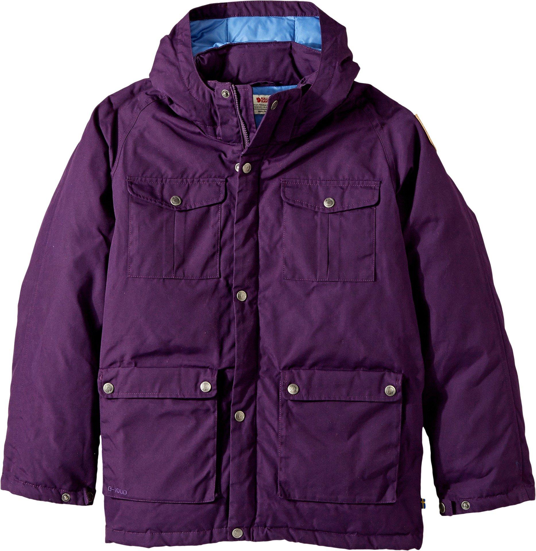 Fjällräven Kids Unisex Greenland Down Parka (Big Kids) Apine Purple 11-12 Years
