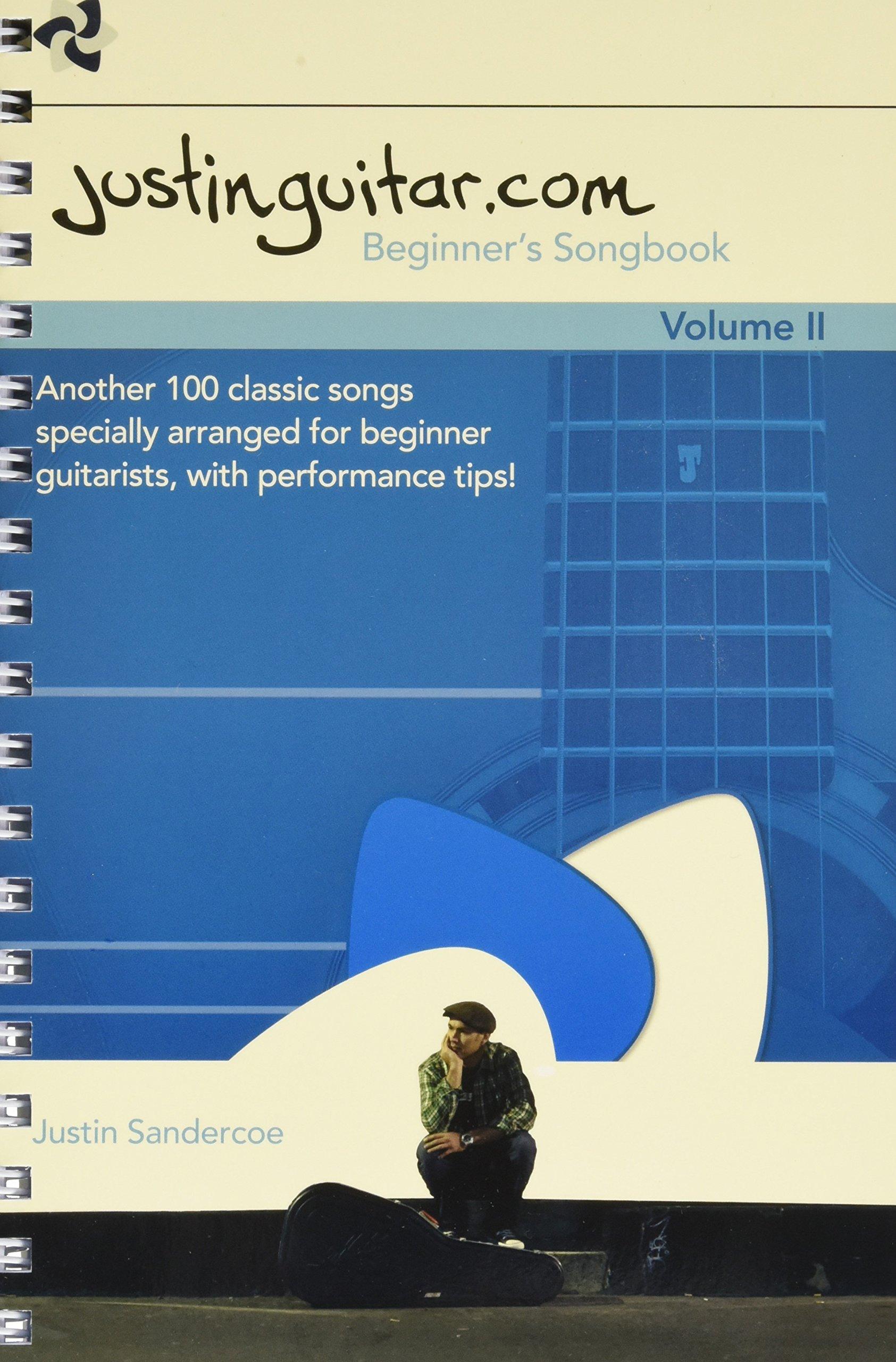 The Justinguitar Beginners Songbook Volume 2 Amazon