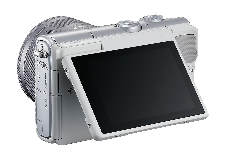 Canon EOS M100 - Cámara Evil compacta de 24.2 MP (LCD, FHD ...
