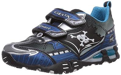 Geox Freizeit Turnschuhe Sneaker für Jungen mit Licht