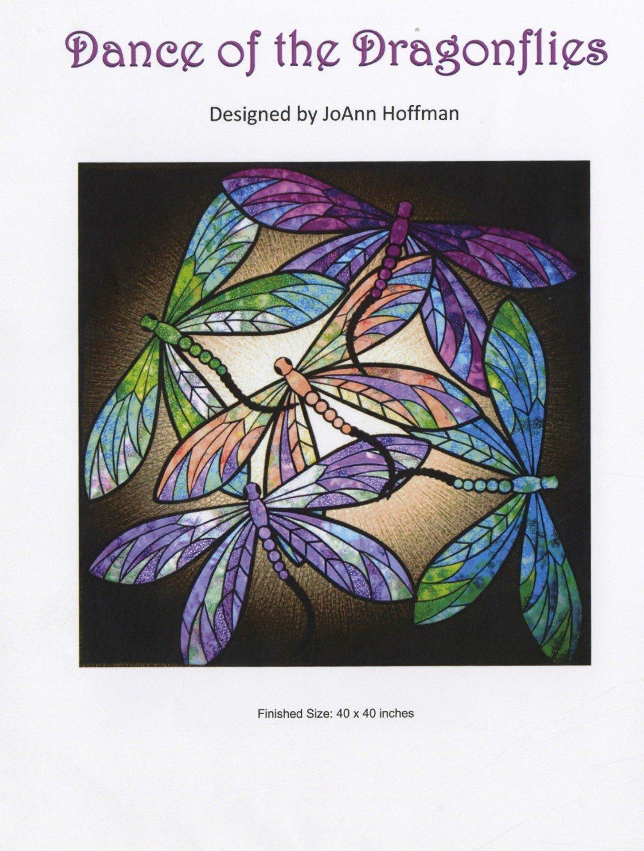JoAnn Hoffman Dance of The Dragonflies, Multi by JoAnn Hoffman