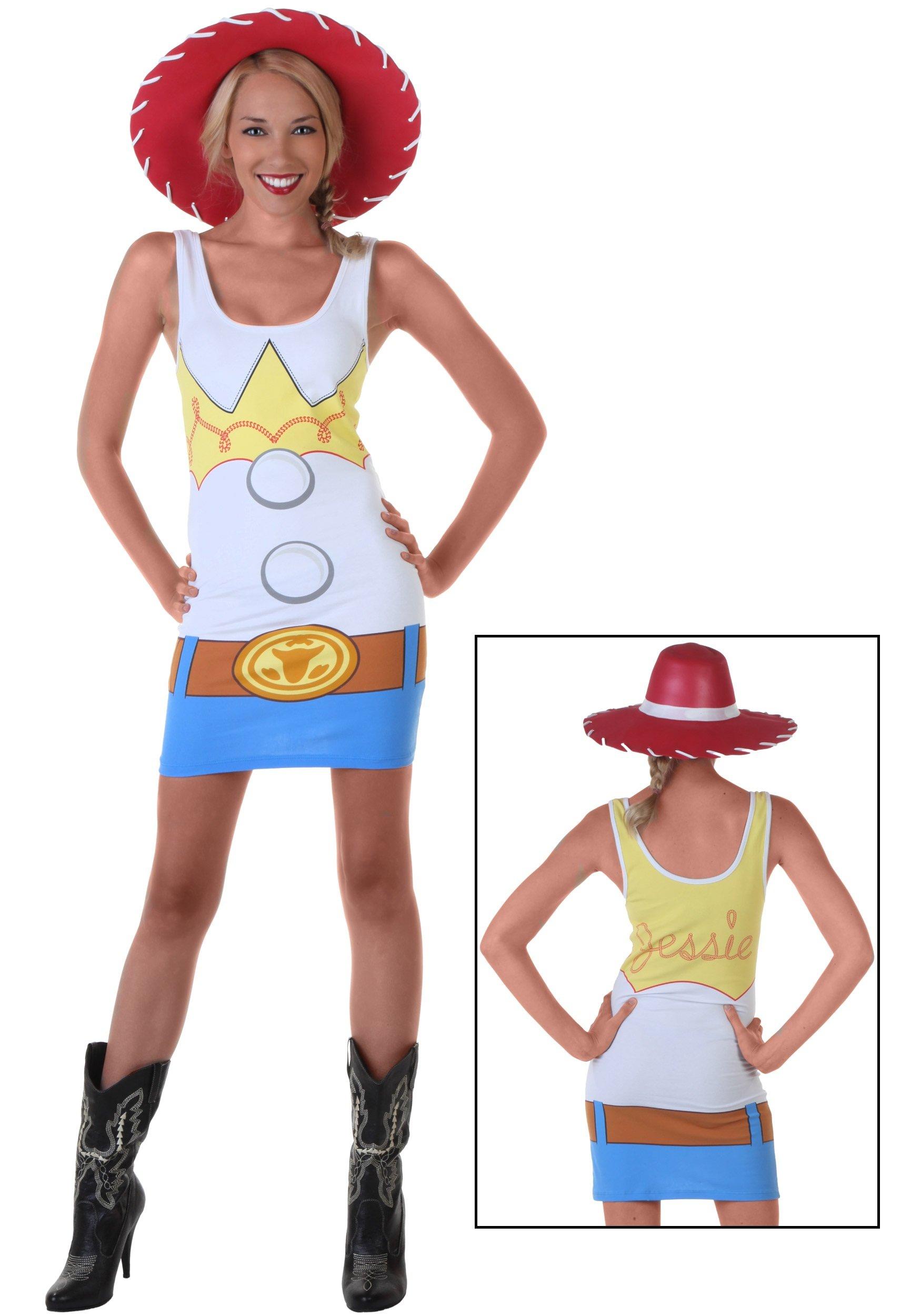 Mighty Fine Women's Toy Story Jessie Tunic Tank