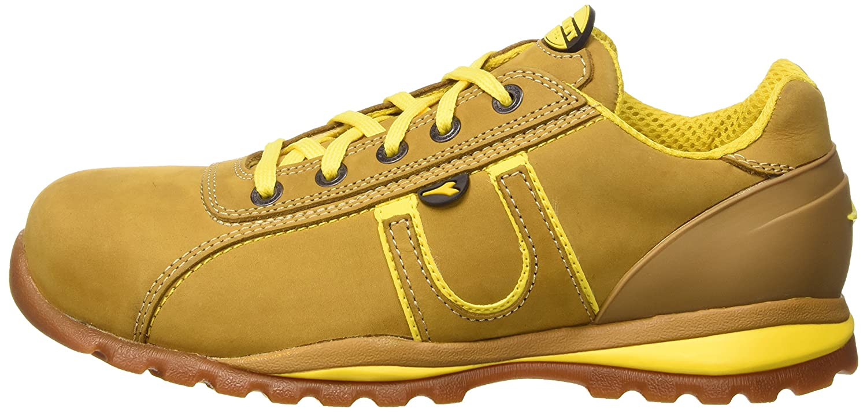 Diadora Unisex-Erwachsene Grau Glove S3-HRO-SRA Niedrige Sneaker, Grau Unisex-Erwachsene and Yellow Camel 63cb88