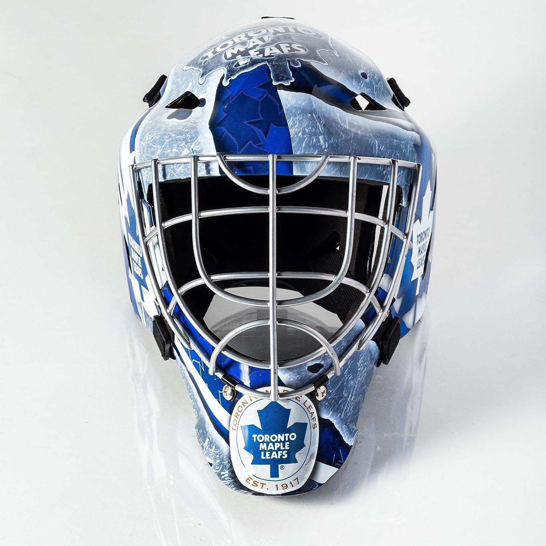 Franklin Sports Gfm 1500 Nhl Goalie Face Mask Toronto Maple Leafs