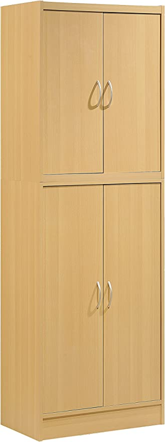 Orion 4 Door Kitchen Pantry White