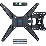 Mounting Dream Full Motion TV Wall Mount Bracket for Most of 26-55 Inch LED, LCD, OLED, Flat Screen TV with Tilt and Swivel Articulating Arm, TV Mount up to VESA 400x400mm and 27KG